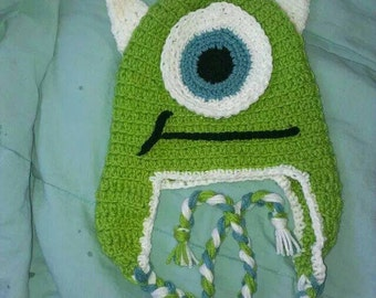 Adorable Mike-Inspired Monsters Hat Size Child to Adult