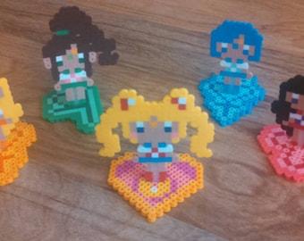 Kawaii Chibi Sailor Moon and Scouts