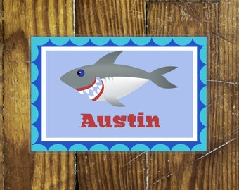 Personalized Placemat- Shark