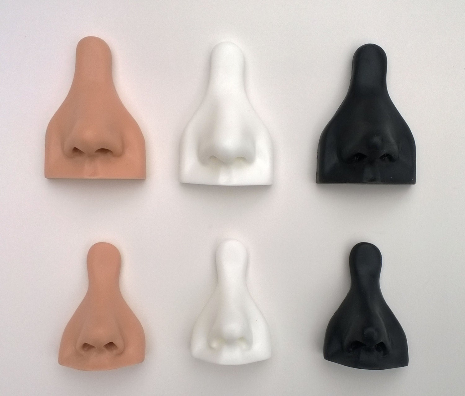 Soft Silicone Nose Jewelry Display Model