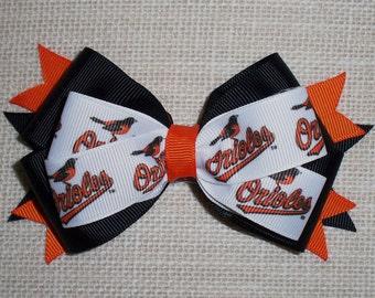 Baltimore Orioles MLB Bow