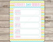 Items similar to PERSONALIZED Quiz Birthday Game Wishes Pink Theme