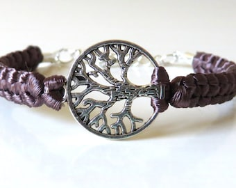 Tree of Life Bracelet You Choose Your Cord Color(s)