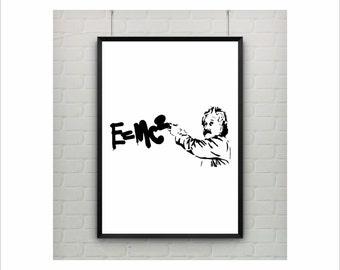 Banksy Stencil On Etsy A Global Handmade And Vintage