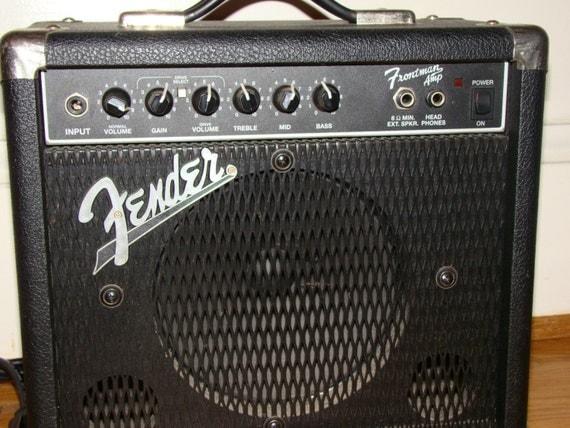 vintage fender frontman amp type pr 241 electric guitar. Black Bedroom Furniture Sets. Home Design Ideas