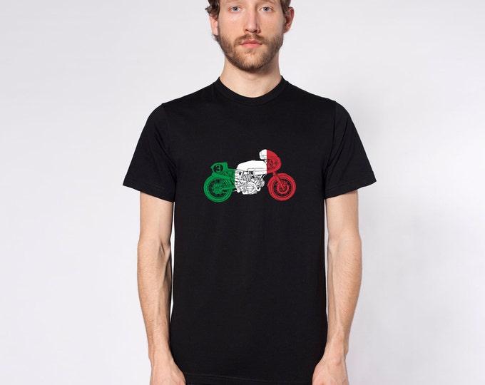 KillerBeeMoto: Limited Release Italian Vintage Cafe Racers Motorcycle Short & Long Sleeve Shirt