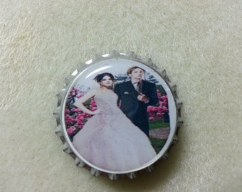 Twilight's Wedding magnetic bottle cap