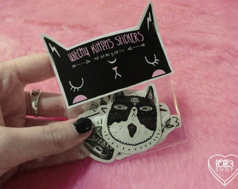 Witchy Kittens Stickers