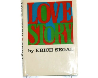 Love Story, First Edition Hardback by Erich Segal, 1970, Harper and Rowe
