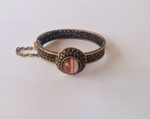 Scandinavian modernist bronze bracelet Pentti Sarpaneva