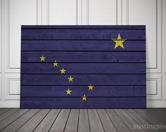 Alaska Flag (Canvas)