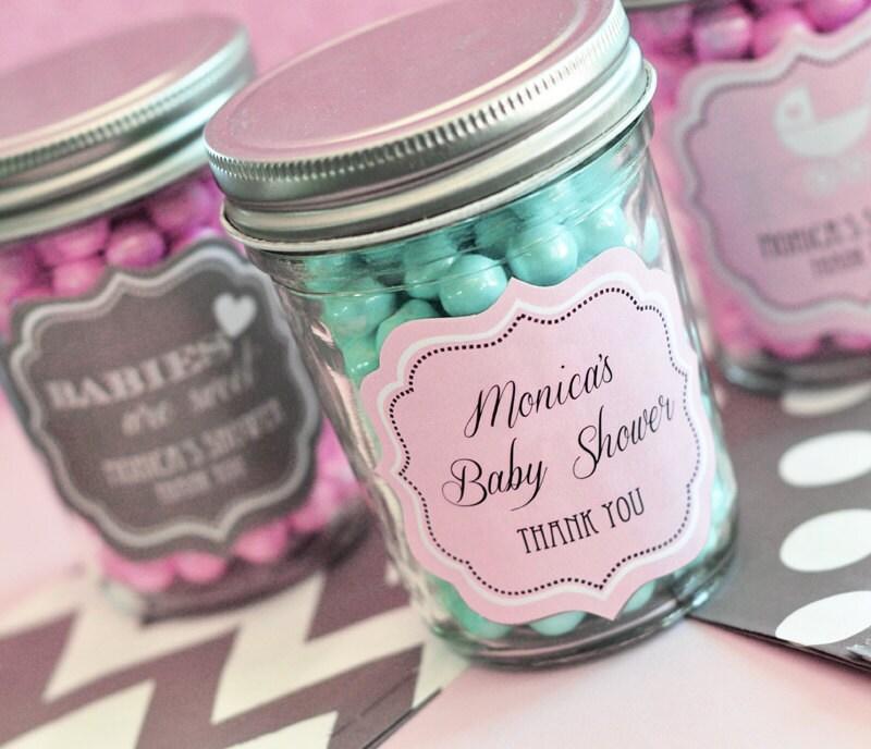 Shabby Chic Baby Shower Favors Shabby Chic Mason Jar By