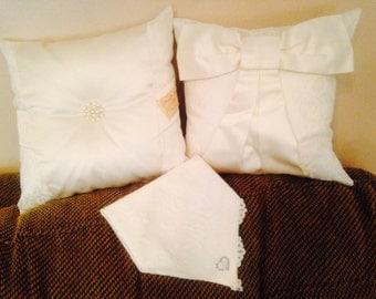 Wedding Dress Pillows