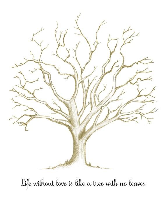 Fingerprint Tree Template For Teacher 72691 Loadtve