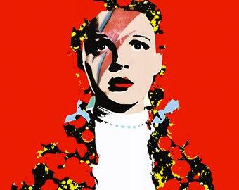 The Prettiest Star. Dorothy Gale, David Bowie print.
