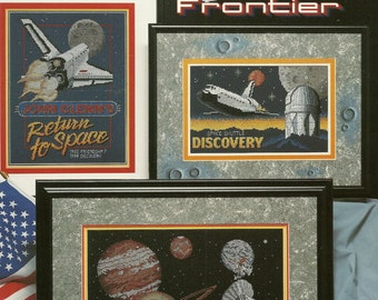 Stoney Creek:  The Final Frontier Cross Stitch Booklet