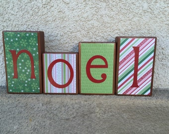Wooden Blocks - noel