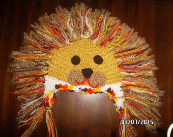 Bravehearted Lion Hat