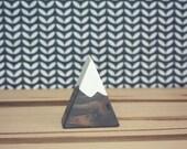 Mini Mini Peak  -  Snow Capped - Gray -  Set of 1 - Mountain - Back to Nature - woodland - Toy - Decor