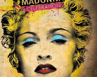 A2/A3 Digital Canvas Prints Celebration Madonna great figure art prints modern Giclee print
