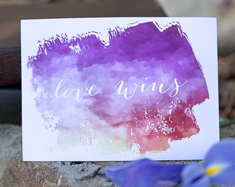 Love Wins, Art Print, Wall Art
