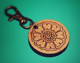 White Lotus - Avatar the Last AirBender and Legend of Korra - White Lotus Keychain