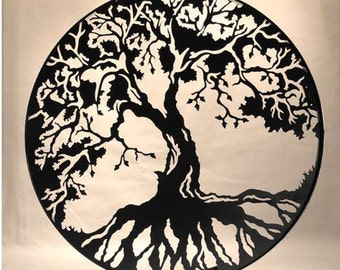 Tree of Life Cross Stitch Pattern *Pattern Only*