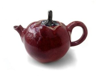 Tomato Teapot