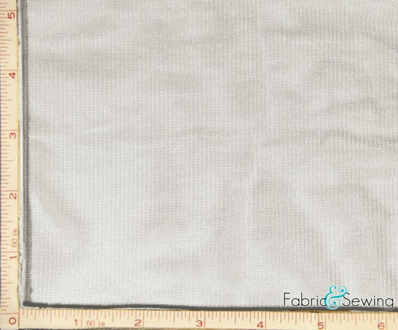Tricot Knit Lining White Tricot Knit Lining