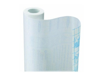 Self Adhesive Shelf Liner Clear Matte 18 Inch By 9 Feet,