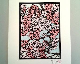 Sake #3 Paper Cutting