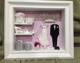 Miniature Wedding Closet #3