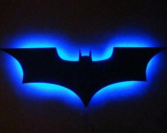 Batman Logo LED Wall Light / Night Light