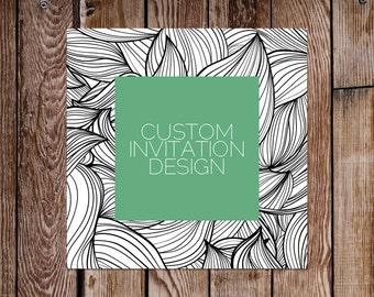 Custom Baby Shower Invitations // Printable