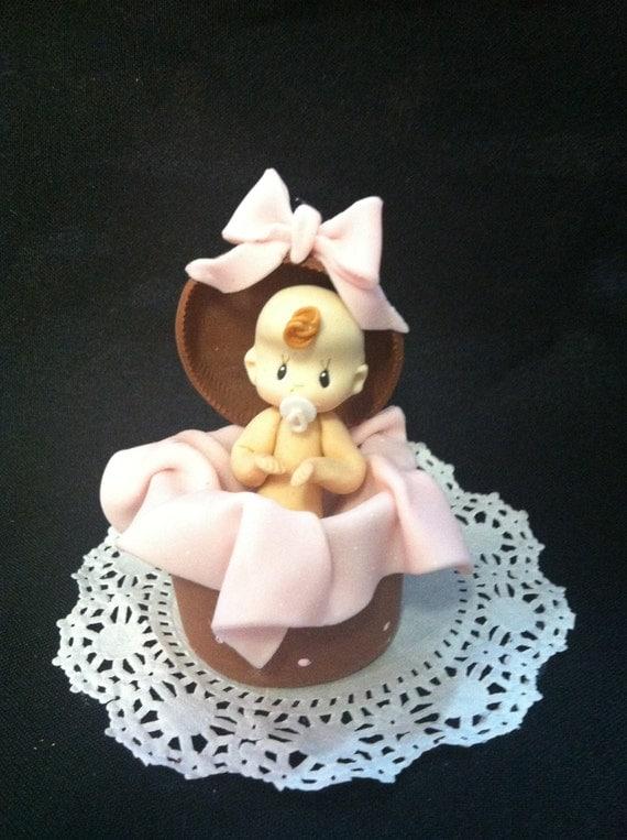 baby shower cake topper baby girl cake topper baby shower