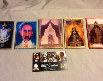 Haile Selassie & Empress Menen Guidance Badges - Italist Creations