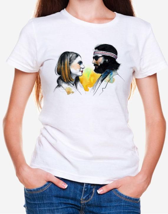 Margot & Richie Tenenbaum Wes Anderson T-shirt Unisex TEE