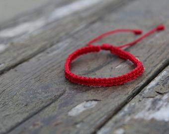 Red bracelet,red string bracelet,kabbalah bracelet,buddhist bracelet,pulsera roja,mal de ojo,protection bracelet,black bracelet,red,