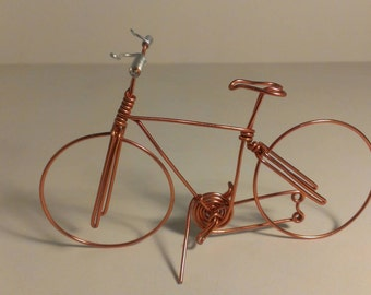 hand made wire bicycle