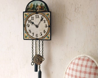Wallclock handpainted