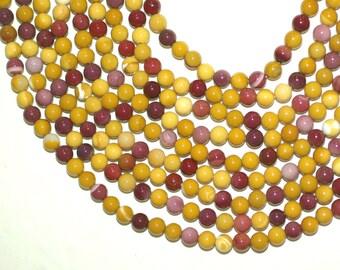 Mookite 6mm Round Beads Full Strand