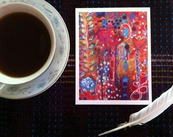Bloom- Postcard