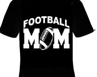 football mom  T-shirts  tee shirt moms gift present for mother foot ball