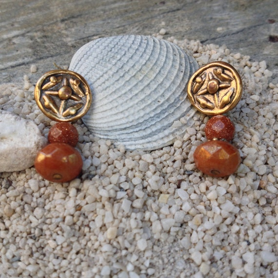 boho earrings brown earrings boho jewelry cheap boho