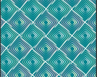 Poetica Collection, Heartbeats in Cool by Pat Bravo for Art Gallery Fabrics