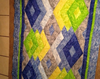 Diamonds are for everyone quilt