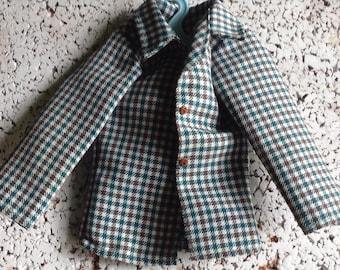 Vintage Doll Coat for A Boy Doll
