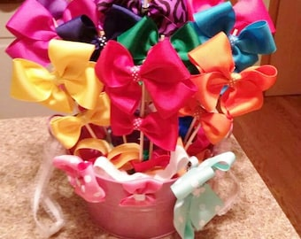 Hair Bow Bouquet- Made to order
