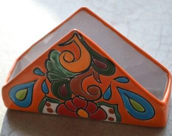 Talavera napkin