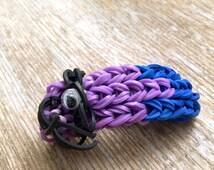 Purple Monster Despicable Me 2 Minion Rainbow Loom Bracelet